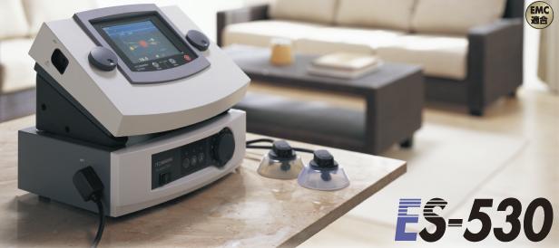 総合刺激装置 ES 530 低周波治療器・干渉電流型低周波治療器組合せ理学療法機器 伊藤超短波